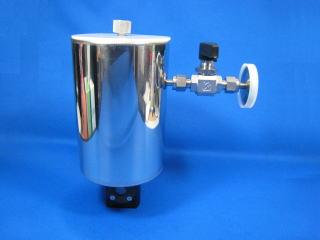 小型光学液体窒素クライオスタット