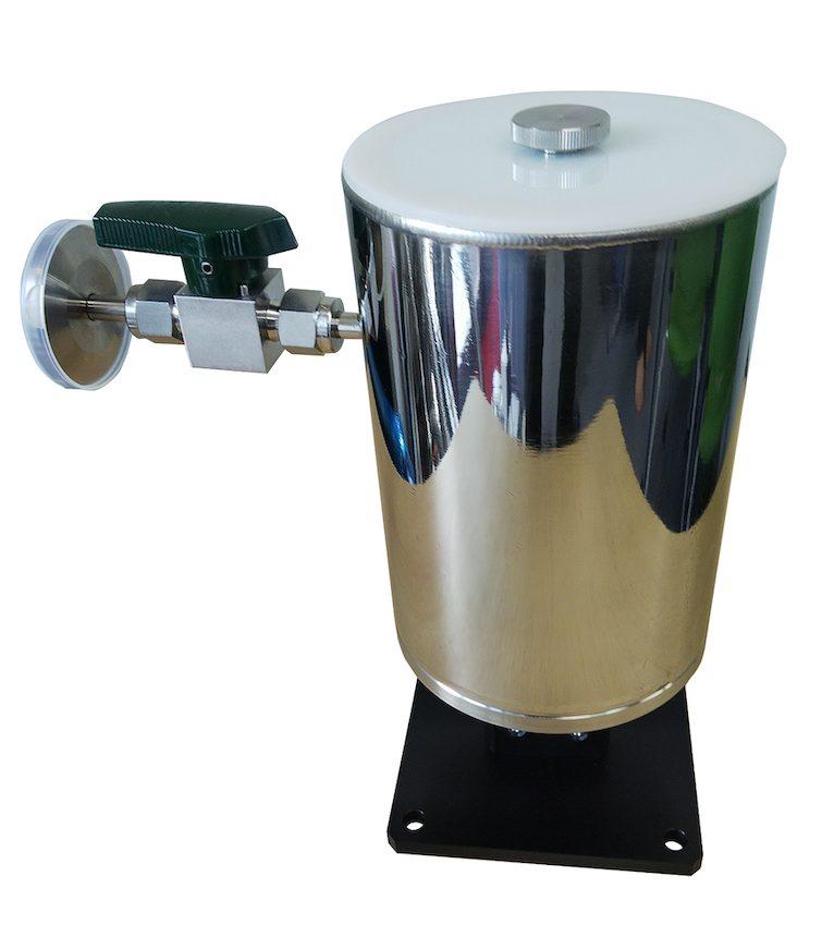 ベースプレート付小型光学液体窒素クライオスタット