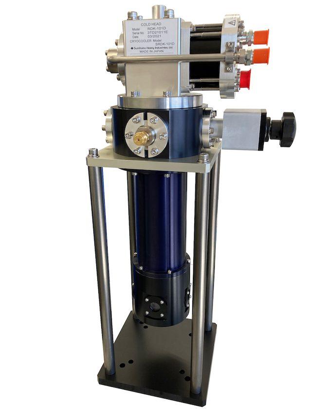 0.1W4KGM冷凍機光学クライオスタット