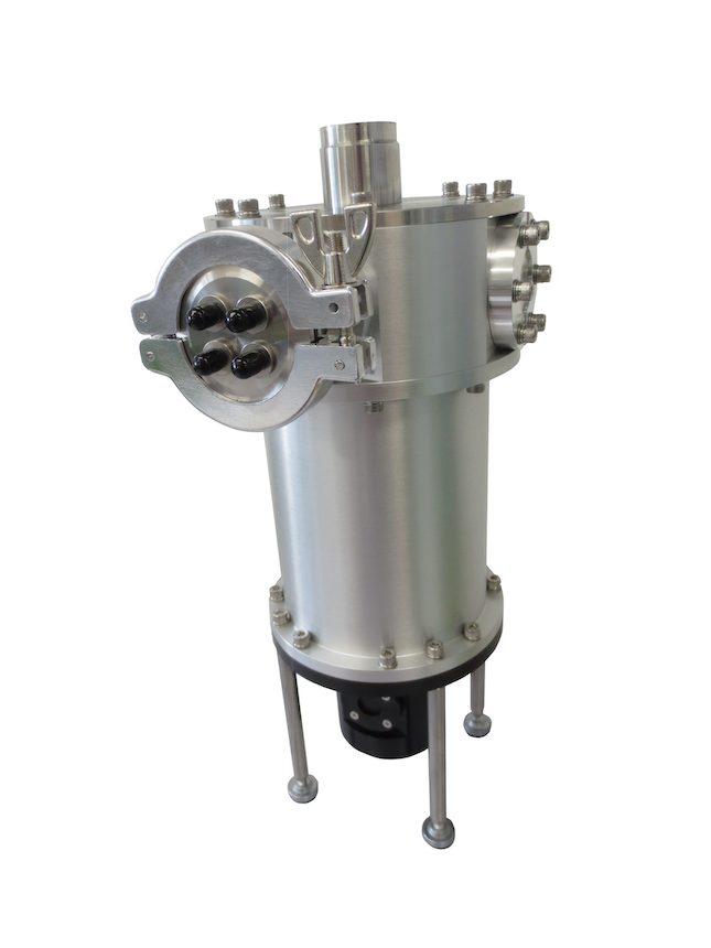小型光学液体窒素クライオスタット(可視分光計組合)
