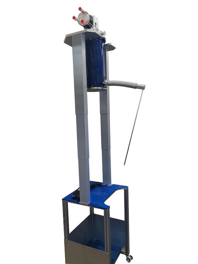 ヘリウム再凝縮システム